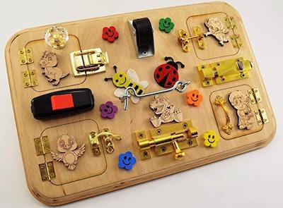 Latch Board Travel Busy Board