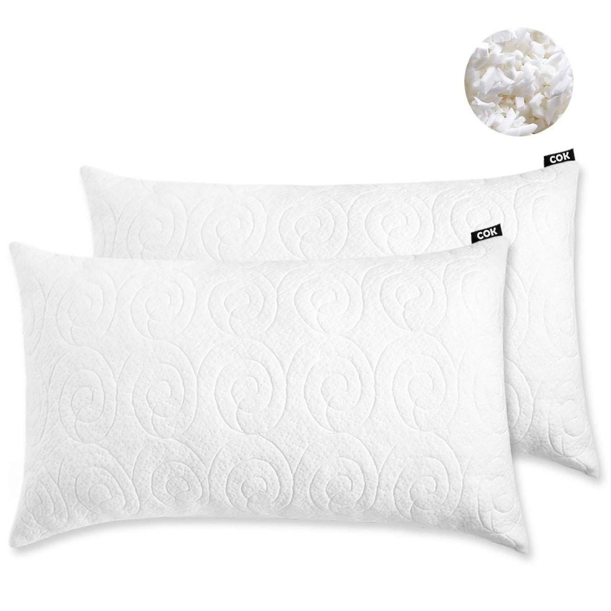 Cok Memory Foam Pillow (2 Pack)