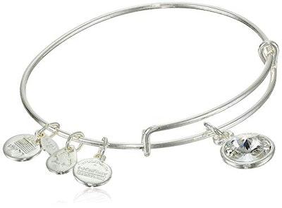 Alex and Ani Bangle Bar Imitation Birthstone Bangle Bracelet