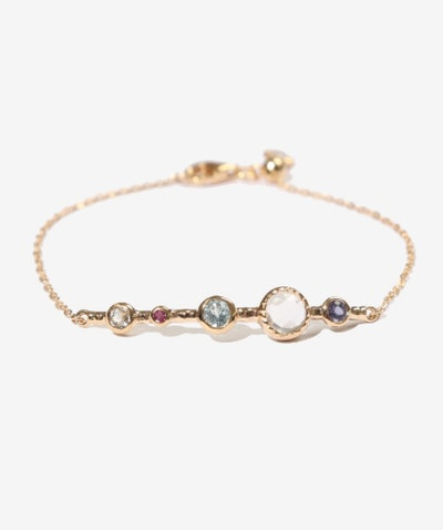 Santo Gold Semi-Precious Bracelet