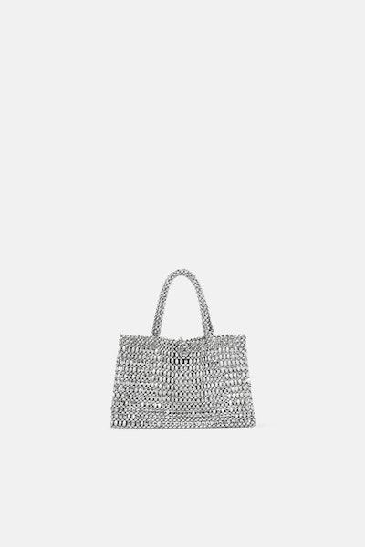 Metallic Mini Shopper