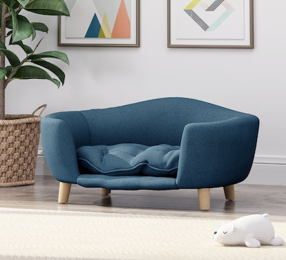 Christopher Knight Home Ferncliffe Mid-Century Small Plush Pet Bed