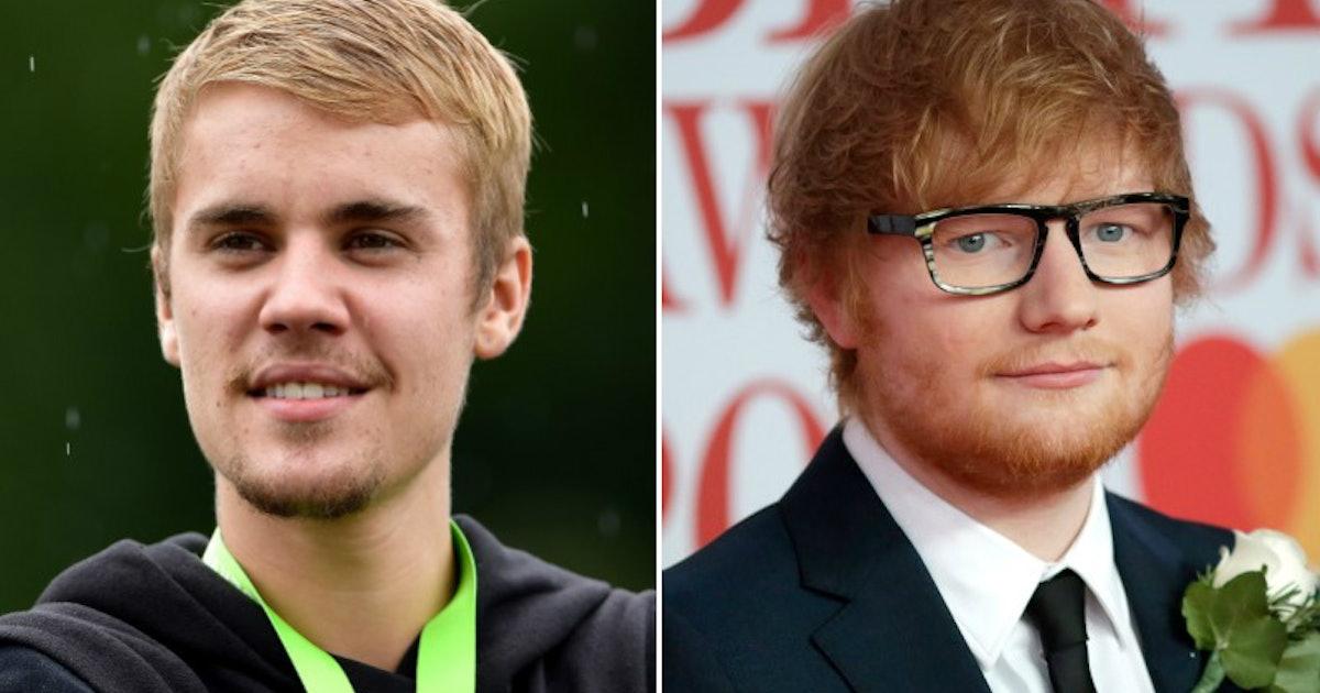Justin Bieber & Ed Sheeran's