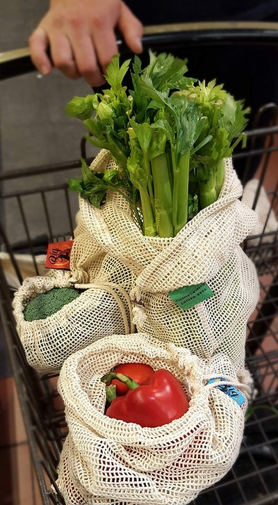 Reusable Organic Cotton Produce Bags (Set Of 9)