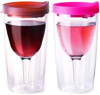 Vino2Go Wine Tumblers (Set of 2)