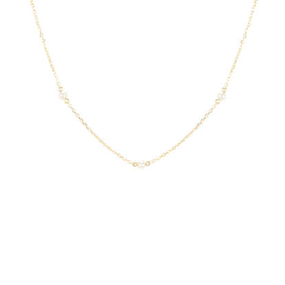 Trio Pearl Necklace