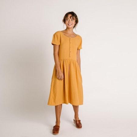 Linden Dress – Gold