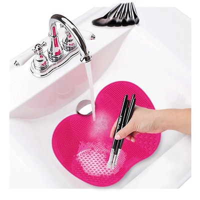 TailaiMei Makeup Brush Cleaning Mat (2 Pack)