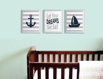 Nautical Nursery Prints