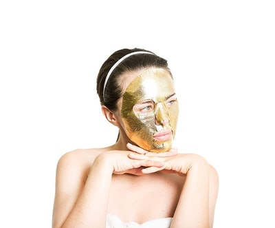 Elixir Cosmetics 24-Karot Gold Korean Sheet Mask
