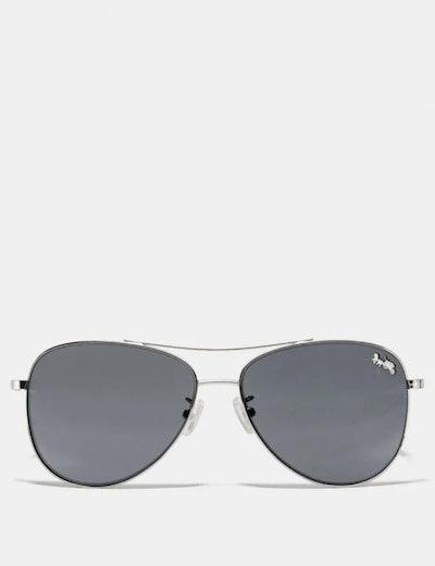 Thin Metal Pilot Glasses