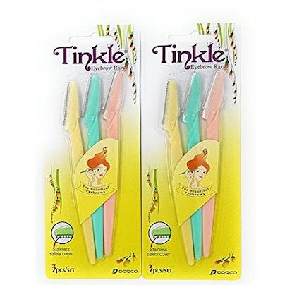 Tinkle Eyebrow Razor (6 Pack)