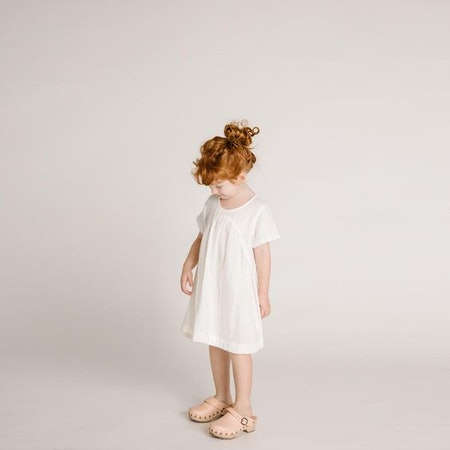 Clover Toddler Dress – Ivory