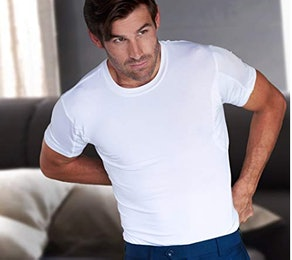 Thompson Sweatproof Undershirt With Underarm Sweat Pads
