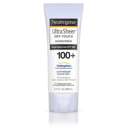 Neutrogena Ultra Sheer Dry-Touch Sunscreen Lotion with Broad Spectrum SPF 100+