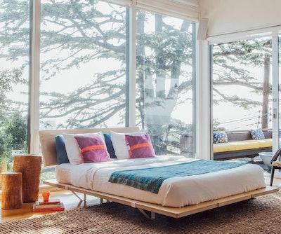 The Floyd Platform Bed + Headboard