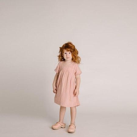 Clove Toddler Dress – Rose Stripe