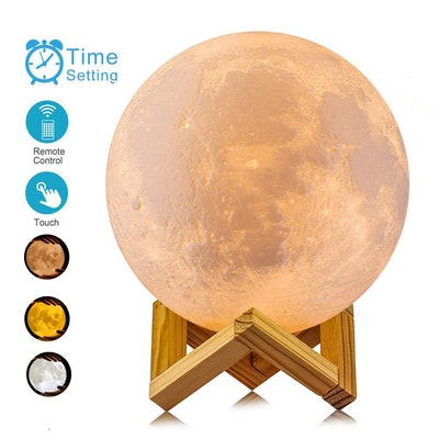 ACED 3-D Printed Moon Lamp