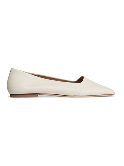 Beau Leather Ballet Flats