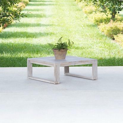 Horizon Teak Coffee Table, Square