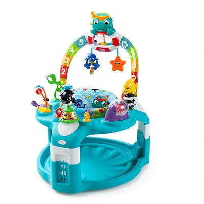 Baby Einstein 2-in-1 Lights & Sea Activity Gym & Saucer