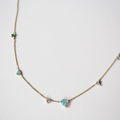 Opal Counting Necklace