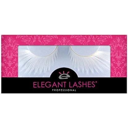 Elegant Lashes F877 Premium White Feather False Eyelashes