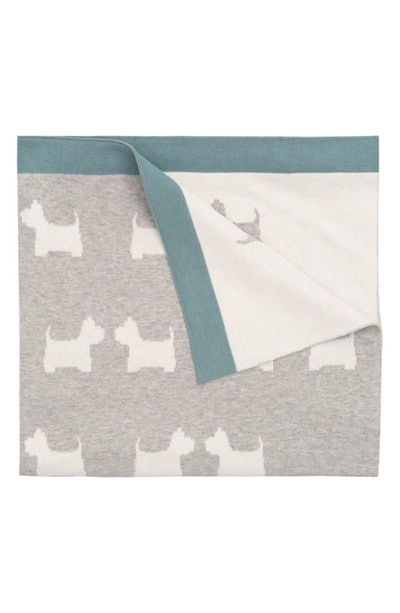 Elegant Baby Dot Knit Blanket