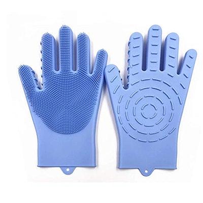 Desheng Silicone Scrubbing Gloves