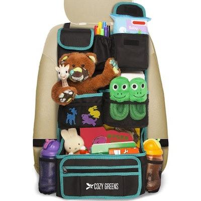 Cozy Greens Backseat Car Organizer