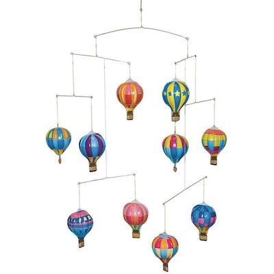Schylling Tin Hot Air Balloon Mobile Toy