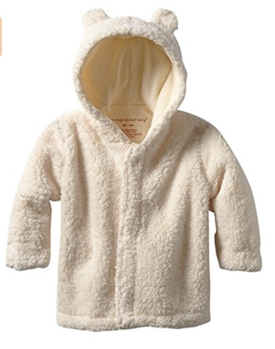 Magnificent Baby Unisex Baby Hooded Bear Jacket (0-24 Months)
