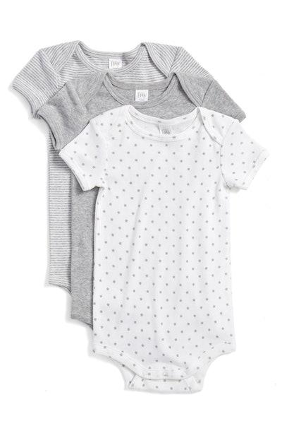 Nordstrom Baby Cotton Bodysuits (Newborn - 12 Months)