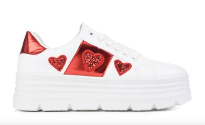 Queen Of Hearts Chunky Trainers