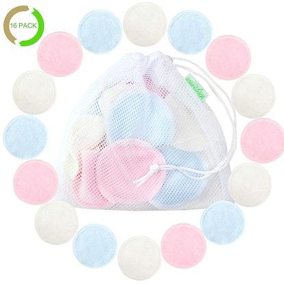 Natural Reusable Cotton Rounds (16 Pack)