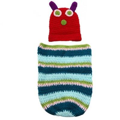 Foxnovo Caterpillar Style Newborn Handmade Crochet Set