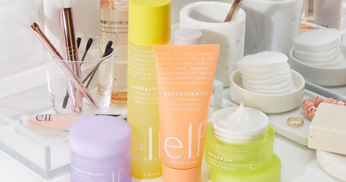 What's In e.l.f's New 'The Supers' Skincare Range? It All Costs Less Than £12 & Looks Seriously Impressive