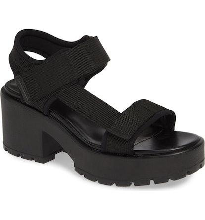 Dioon Webbing Platform Sandal