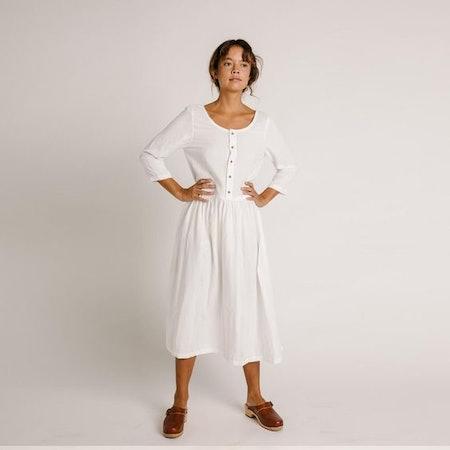 Zinnia Dress – Ivory