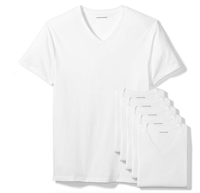 Amazon Essentials V-Neck Undershirts (6-Pack)