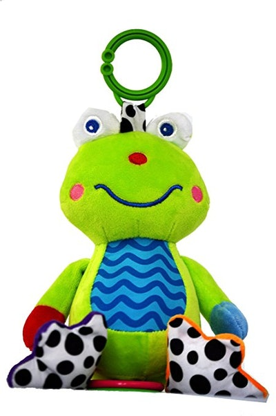 Zoomy Baby Soft, Plush Frog
