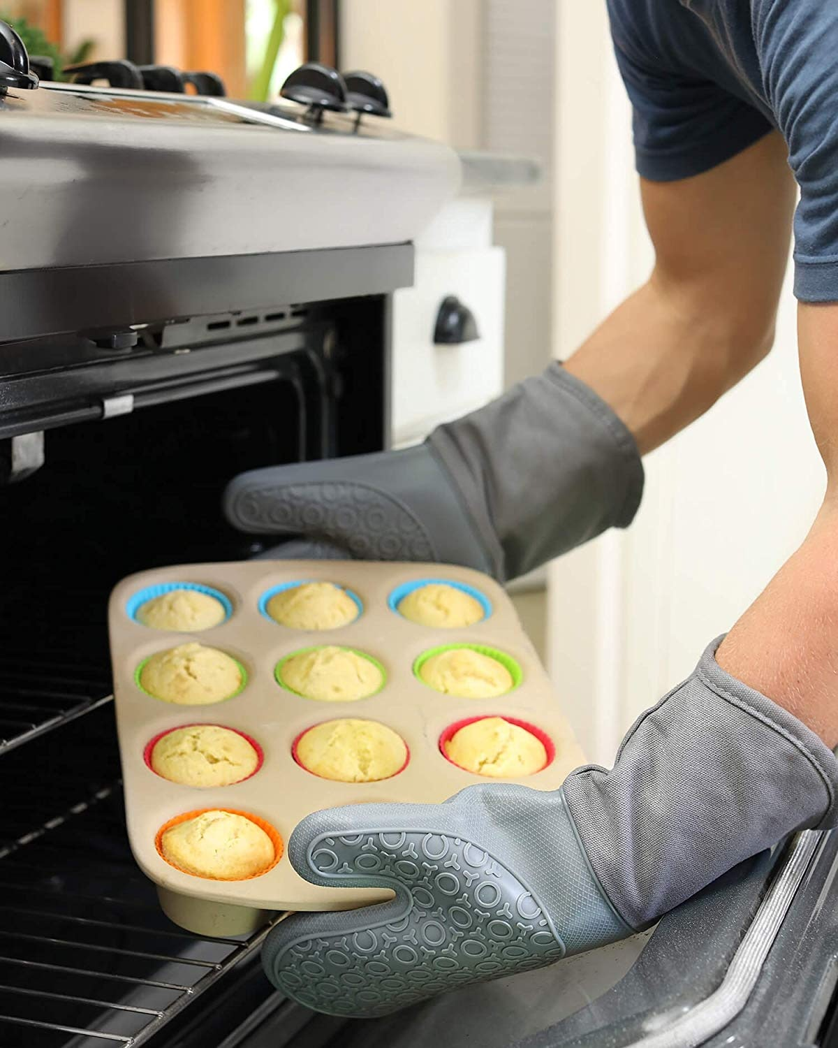 HOMWE Oven Mitts