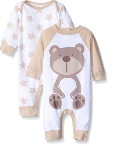 Gerber Unisex Baby 2 Pack Coverall (Newborn - 24 Months)