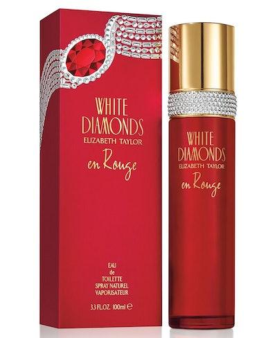 White Diamonds En Rouge