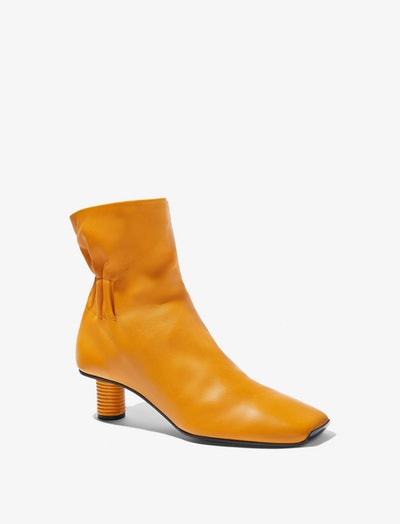Ruched Nappa Boots