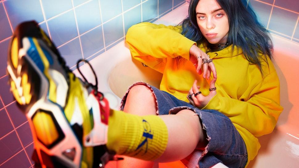 5d4dfb1af49 Billie Eilish's #MyCalvins Calvin Klein Campaign Reveals Why She Always  Wears Baggy Clothes