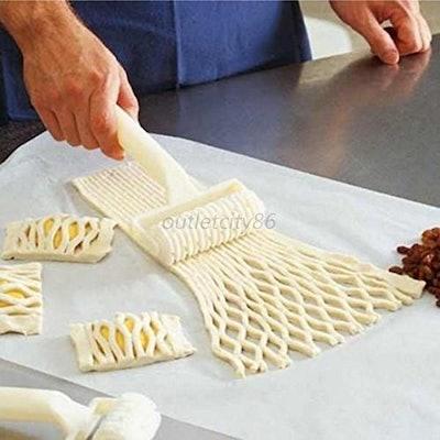 Kitchen Tool Pie Pastry Lattice Roller