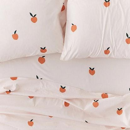 Allover Fruit Cotton Sheet Set