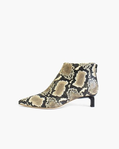 Marta Leather Snake Boots