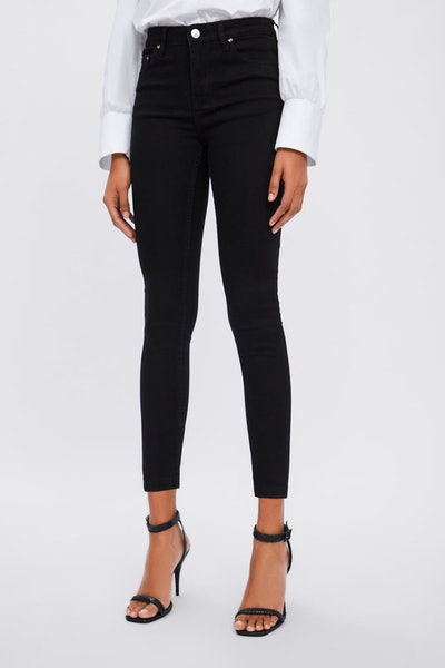ZW Premium Skinny Stay Black Jeans